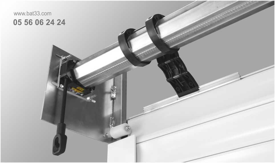 Motorisation porte de garage bordeaux installation moteur for Moteur volet roulant porte de garage