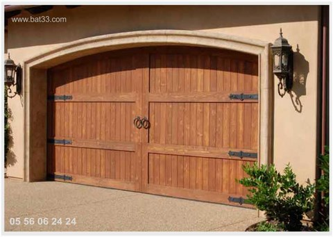 Porte battante double double porte interieure vitree collection et porte double battant - Porte garage double ...